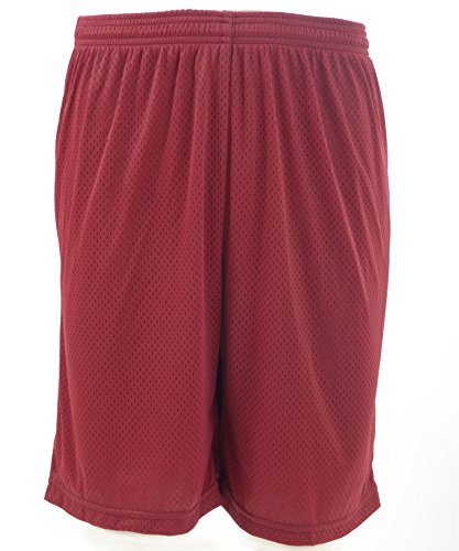 Neff Basketball Shorts (X-Large, Dark Scarlet)