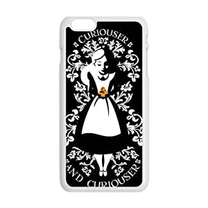 alice in wonderland curiouser and curiouser Phone Case for Iphone 6 Plus