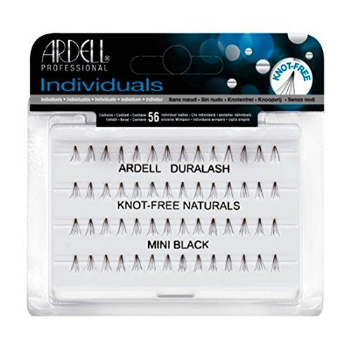 (3 Pack) ARDELL Duralash Knot-Free Naturals Individual Black Lashes - Mini