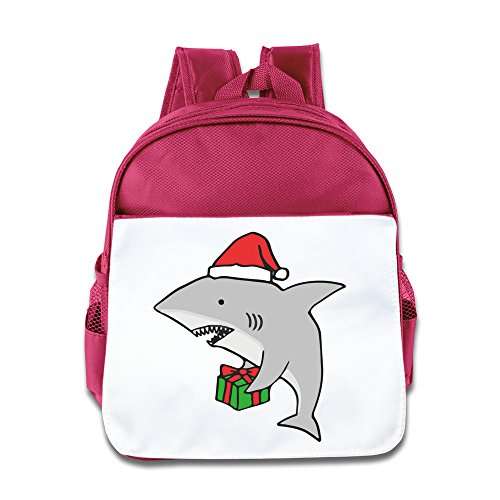 Hello-Robott Merry Christmas Shark School Bag Backpack Pink Christmas Tree Crochet Hat Pattern