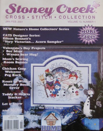 Stoney Creek Cross Stitch Collection, January/February 2001 (Volume 13, Number 1)