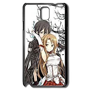 Sword Art Online Kirito Asuna Perfect-Fit Case Cover For Samsung Note 3 - Style Case