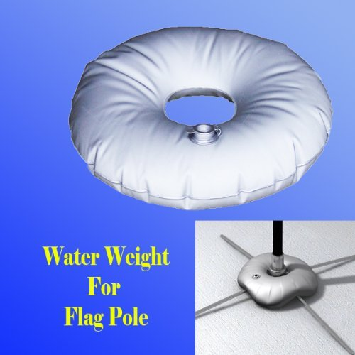 Water Weight Bag for Cross Base Swooper Feather Flag Pole Cross Base Stand Outdoor Indoor