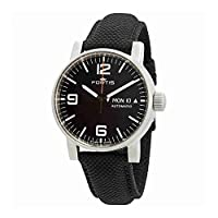 Deals on Fortis Spacematic Automatic Black Dial Men's Watch