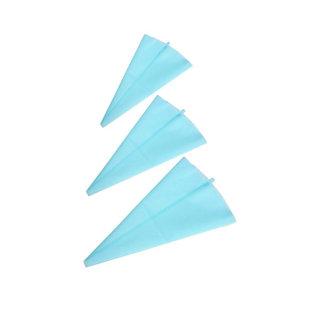 S//M//L Blu Tasca da Pasticciere silicone riutilizzabile Spritz Sack Sprit ztueten per sac /à poche torta che decora gli attrezzi