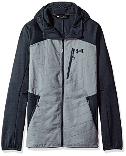 Under Armour Men's ColdGear Reactor Jacket, Steel/Black, X-Large ()
