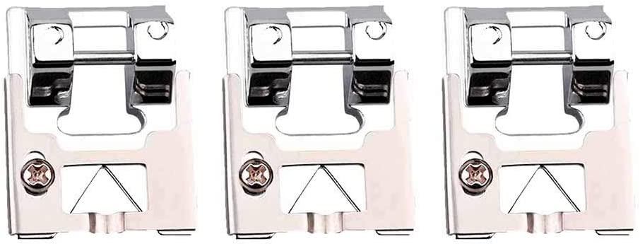 YAMY Braiding Sewing Machine Presser Foot 1PC Easy Sequin Braiding Presser Foot Fit Most Domestic Sewing Machine Brother Singer Ect Snap On Presser Foot Sewing Machine Foot Presser