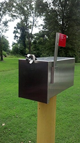 The Breadbox Handmade Stainless Steel Mailbox LARGE by Grandpas Stainless Workshop