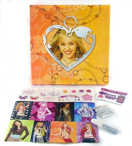 Hannah Montana -Rock the Walls - Canvas Heart Charm Wall Art