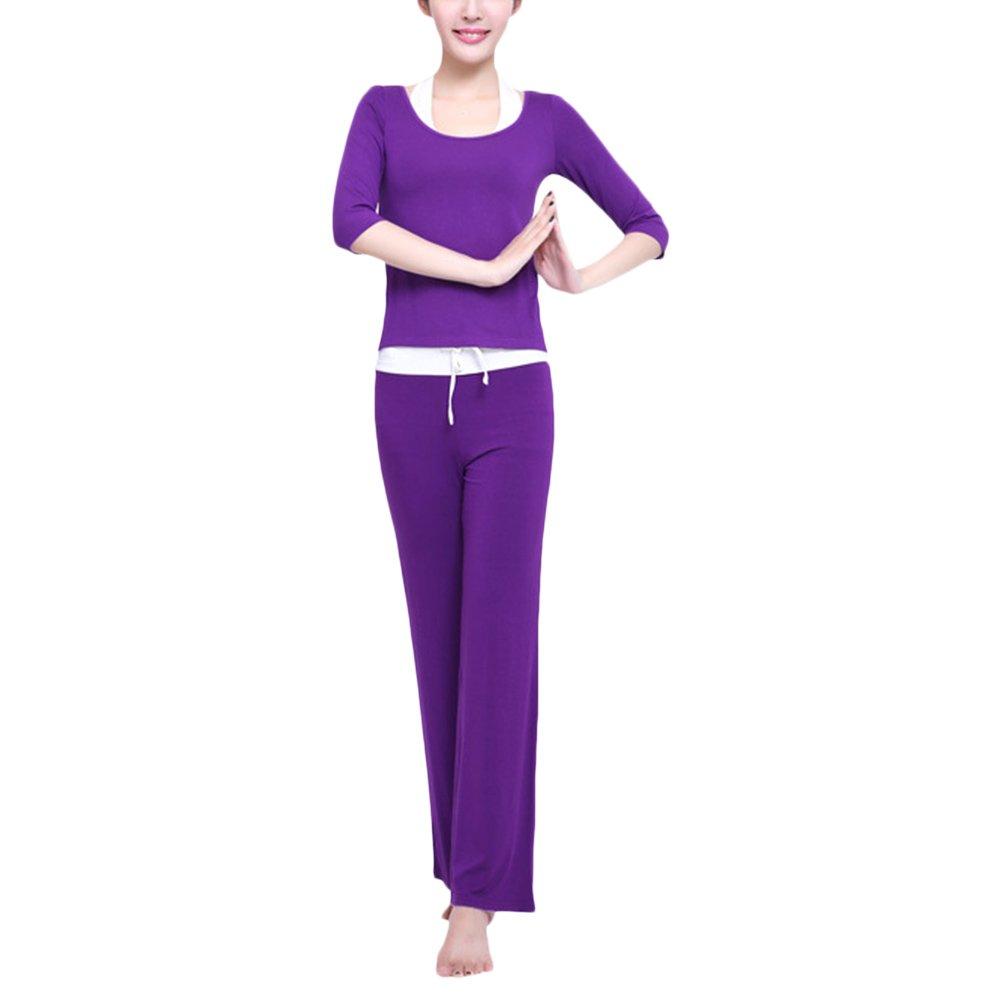 TALLA XL. Zhhlaixing Elegant Womens Three-Piece Sportswear Multi-Style Fitness Athletic Yoga Set