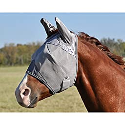 Cashel Crusader Fly Mask with Ears - Size: Mini, Foal