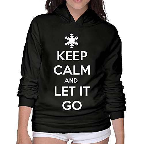 Lightweight 80's Juniors Lady Let It Go Small Hoodie - Orlando Mall Fashion