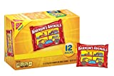 Barnum's Animals 12 Count Mini Animal Crackers Snack Packs, Original, 12.0 Ounce (Pack of 4)