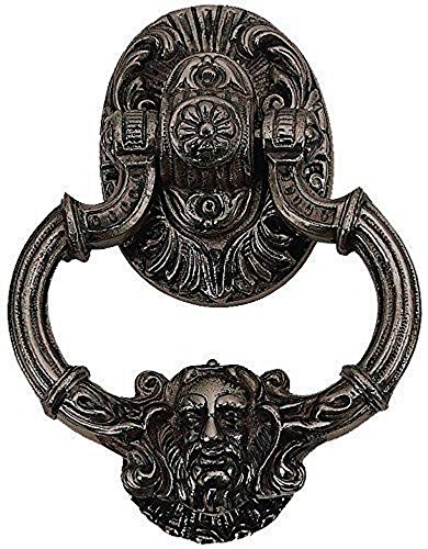 BRASS Accents A04-K5060-613VB 7.375'' Neptune Large Door Knocker, Venetian Bronze Finish by BRASS Accents