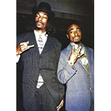 Tupac & Snoop Dogg (In Suits) Music Poster Print - 24x36