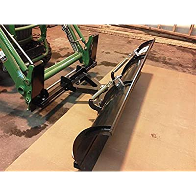 """John Deer 210 72"""" Snow Plow Quick Attach Loaders By EMP 11546"""