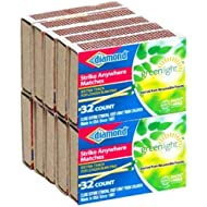 Strike Anywhere Matches Pack of 10 boxes (32 Small Matches, per Box)