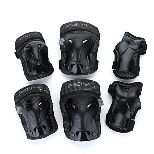 Yahill-Multi-Use-Safety-Protective-Gear-ChildTeenagerAdult-Helmet-or-ChildrenKidsAdults-Knee-Elbow-Wrist-Pads-for-Cycling-Roller-Skating-and-Other-Extreme-Sports
