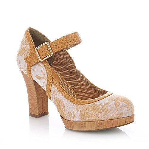Sand Cassandra Women's Ruby Jane Platform Shoo Shoes Bar Mary qaxHf