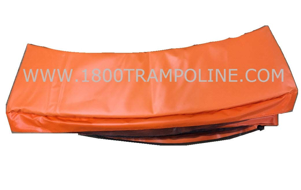 Family Store Network Orange Made in USA 12' Trampoline Frame Pad 12'' Wide