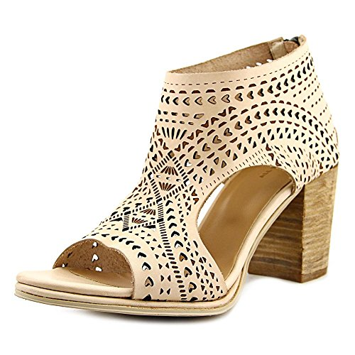 All Black Lovecut Perf Women US 10.5 Nude Sandals