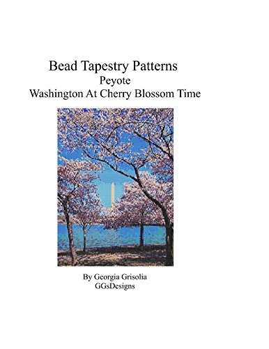 Blossom Time Pattern (Bead Tapestry Patterns Peyote Washington at Cherry Blossom Time)