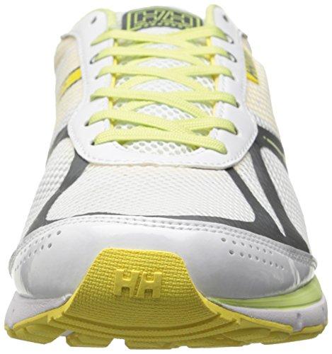 Helly Hansen Donna Agile Sneakers R2 Bianco / Giallo Neon / Midori