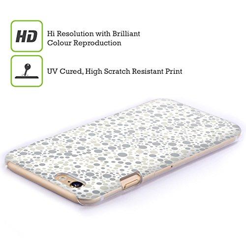 Head Case Designs Ombre Grige Particelle Pattern Cover Retro Rigida per Apple iPhone 7 Plus / 8 Plus