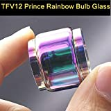 NOKOJKZ TFV12 Prince 8ml Extended Replacement Bulb Glass Tube Atomizer Nozzle Rainbow Drip Tip