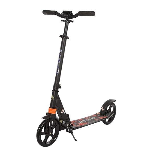 Scooters Patinete para Adultos con Soporte, Altura Ajustable ...