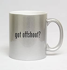 11oz Ceramic Silver Coffee Mug - got offshoot?