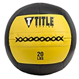 Title Boxing Max Medicine Ball, Yellow/Black, 20 lbs