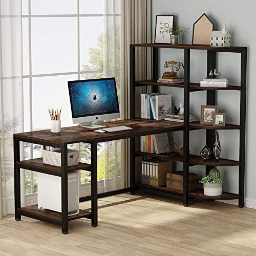 Tribesigns Industrial Computer Desk