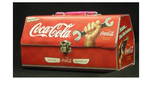 0330bfe7374a Coca Cola Coke Tool Box Shape Tin  Amazon.com  Grocery   Gourmet Food
