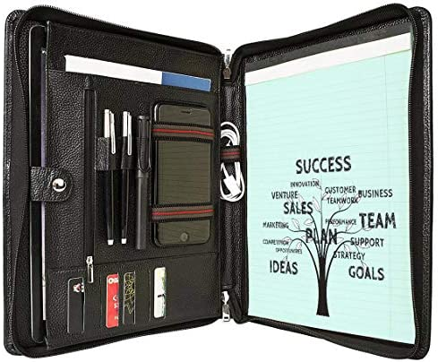 Portfolio Briefcase Organizer Interviews Executive