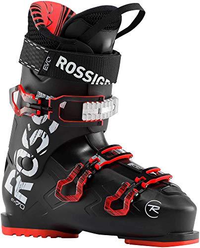 Rossignol Evo 70 Ski Boots Mens Sz 10.5 (28.5) Black/Red