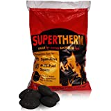 20kg of Supertherm Smokeless Coal - Large, Long Lasting Briquettes- Comes With TCH Anti-Bacterial Pen! by The Chemical Hut