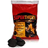 20kg of Supertherm Smokeless Coal - Large, Long Lasting Briquettes- Comes With TCH Anti-Bacterial Pen!