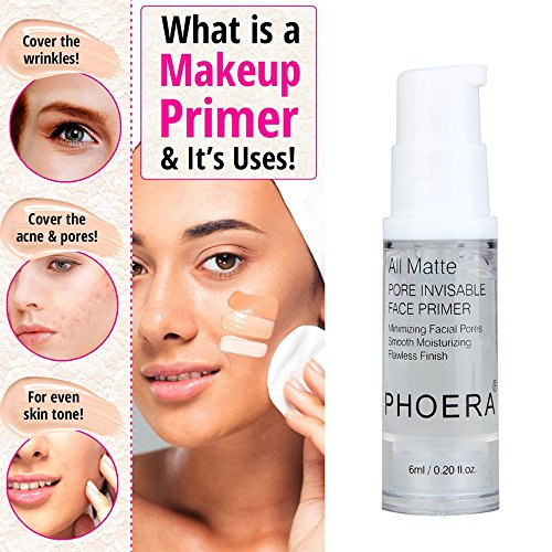 Clearance Sale! Exteren 1PC PHOERA Isolated Moisturizing Makeup Base Face Makeup Primer (Clear)