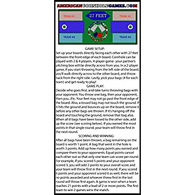 Cornhole Score Keeping Tower-Score Keeper - Bossette Boutique: Toys & Games