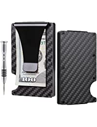 Aluminum Slim Minimalist Front Pocket Wallet Credit Card Case Holder RFID Blocking
