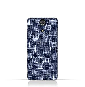 AMC Design Sony Xperia ZR TPU Silicone Case with Brushed Chambray Pattern