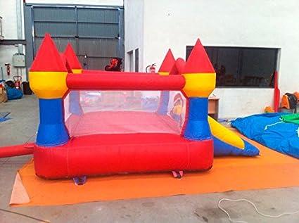 Salto Feliz Mini Castillo Hinchable con Tobogan Máximus Pro ...