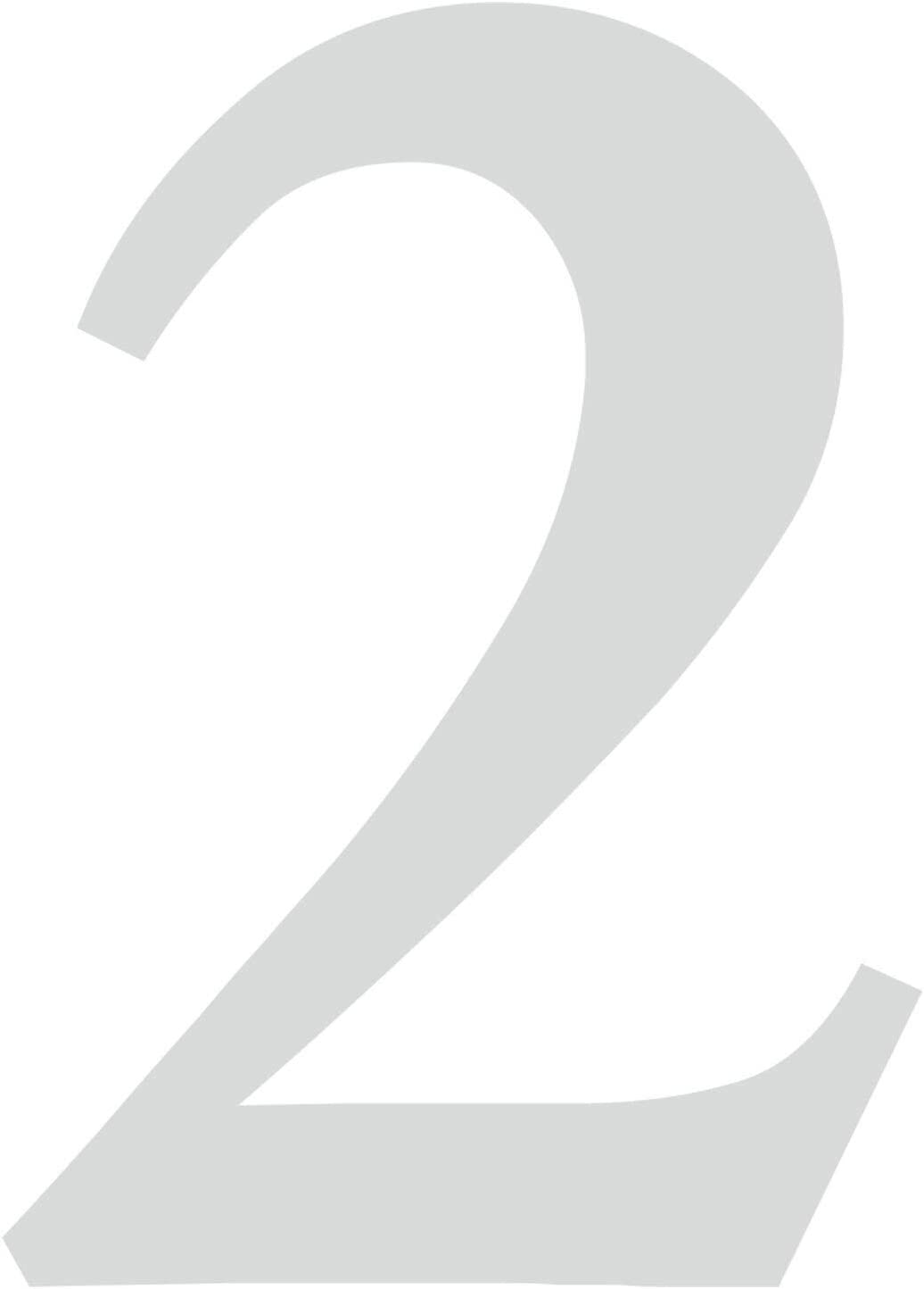 5 in schwarz I H/öhe 30 cm I selbstklebende Haus-Nummer Ziffer zum Aufkleben f/ür Au/ßen T/ür I wetterfest I kfz/_473/_5 Briefkasten Zahlen-Aufkleber Nr