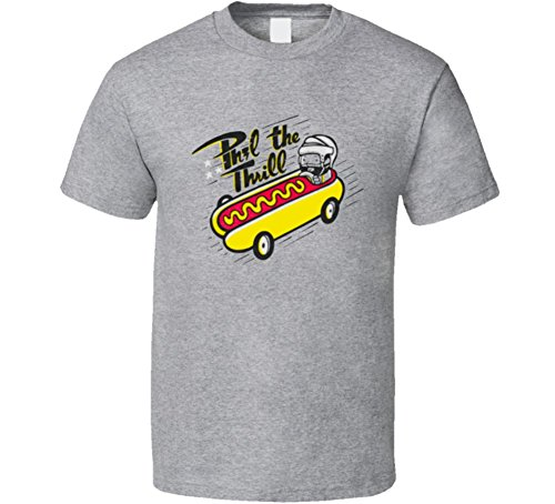 FanTstore Phil The Thrill Phil Kessel Funny Hotdog Hockey Sport T-Shirt M Sport Grey