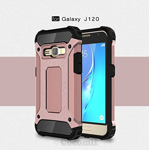 Cocomii Commando Armor Galaxy J1 2016/Express 3/Amp 2 Case NEW [Heavy Duty]  Premium Tactical Grip Dustproof Shockproof Hard Bumper Shell [Military