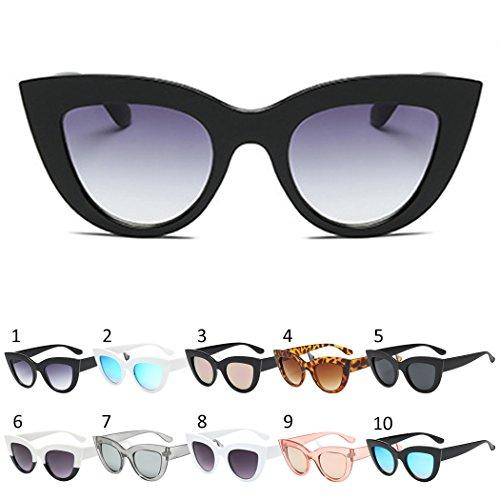 Gafas Al Viajes De Grey UV Sol Gafas 8 para Libre Gafas Mujer Protección para Aire De De Retro Sol Sol Sol Gafas De Fansport UH4XqfZU