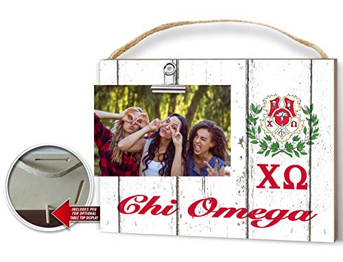 Sorority Clip-It Photo Frame (Chi Omega) (Pictures Of Chi)