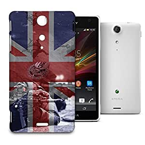 Phone Case For Sony Xperia TX - SAS Special Forces Inspired Snap-On Slim