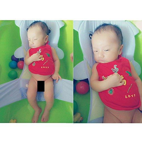 infant adjustable bath seat support net bathtub sling shower mesh bathing cradle rings safety. Black Bedroom Furniture Sets. Home Design Ideas